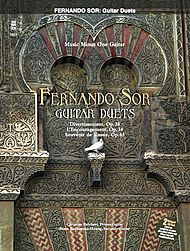 FERNANDO SOR: Classic guitar duos - intermediate level (2 CD set)