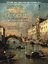 PUCCINI Arias for Tenor and Orchestra, vol. II