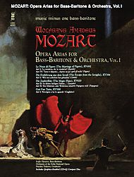 MOZART Opera Arias for Bass-Baritone with Orchestra, vol. I