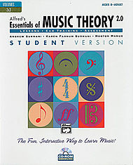 Essentials Of Music Theory Software, Version 2.0 - Cd-Rom Volumes 2 & 3 Student Version