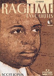 Scott Joplin: Ragtime Favourites by Scott Joplin - Clarinet (Book/CD Package)