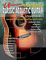 Ultimate Teach Yourself Classic Acoustic Guitar Book/CD