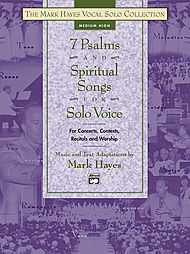 7 Psalms And Spiritual Songs For Solo Voice - Book (Medium High)