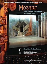 MOZART Opera Arias for Bass-Baritone and Orchestra, Vol. II
