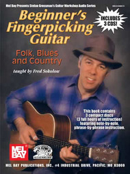 Beginner''s Fingerpicking Guitar: Folk, Blues and Country