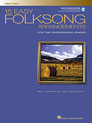 15 Easy Folksong Arrangements - High Voice