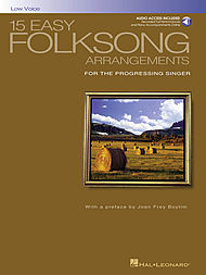 15 Easy Folksong Arrangements - Low Voice