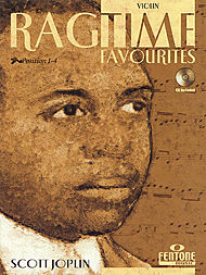 Scott Joplin: Ragtime Favourites by Scott Joplin - Violin (Book/CD Package)