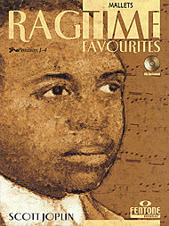 Scott Joplin: Ragtime Favourites by Scott Joplin - Mallets (Book/CD Package)
