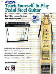 Alfred''s Teach Yourself To Play Pedal Steel Guitar (Book And Cd)