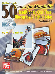 50 Tunes for Mandolin, Volume 1