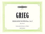 Edvard Grieg: Peer Gynt Suites Nos. 1 & 2 (piano duet)