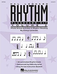Hal Leonard Rhythm Flashcard Kit, Volume 2