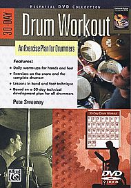 Pete Sweeney: 30-day Drum Workout - DVD only