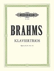 Johannes Brahms: Piano Trios (5) Complete Edition in 1 Volume