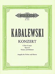 Dmitri Kabalevsky: Concerto, Op. 48 in C Major for Violin and Orchestra - Arranged for Violin and Piano