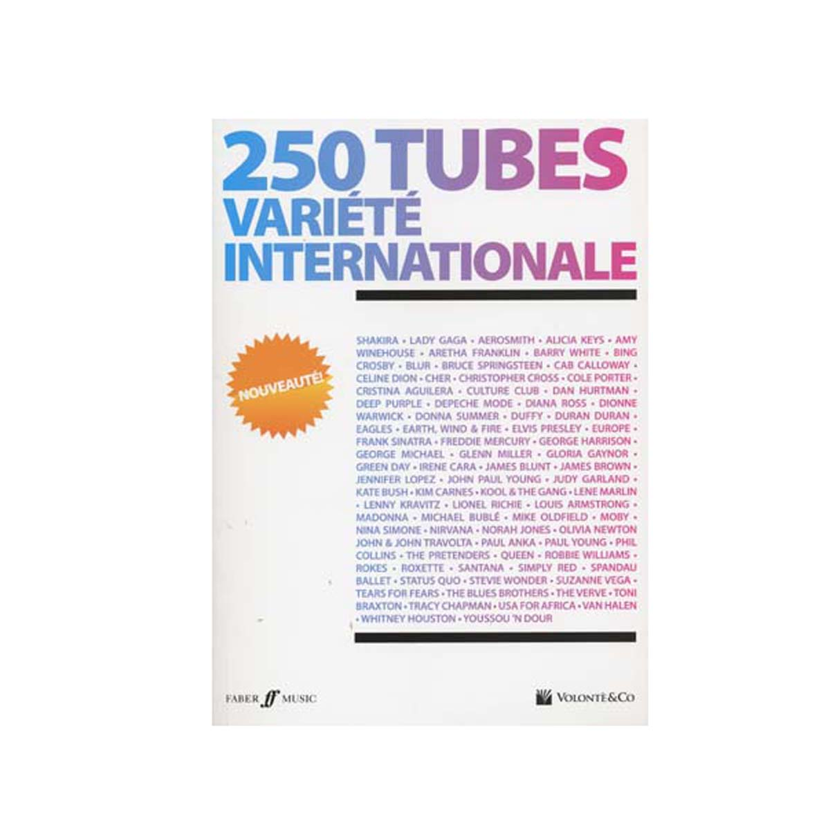 250 tubes variété internationale