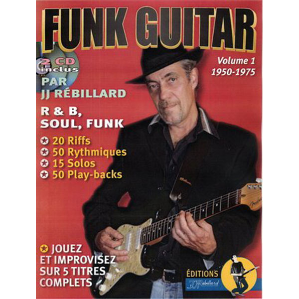 Méthode Funk Guitar Vol.1 - 1950-1975
