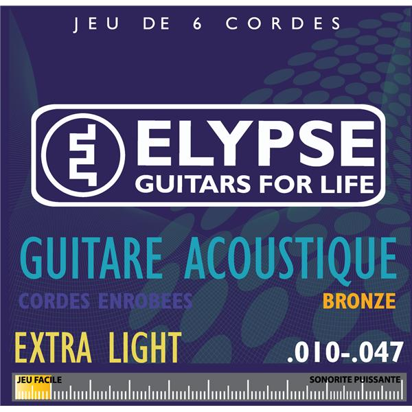 Cordes guitare folk - AS-461C - extralight - 10 47