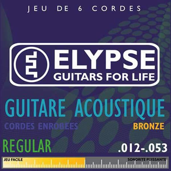 Cordes pour guitare folk - AS-465C - regular - 12 53