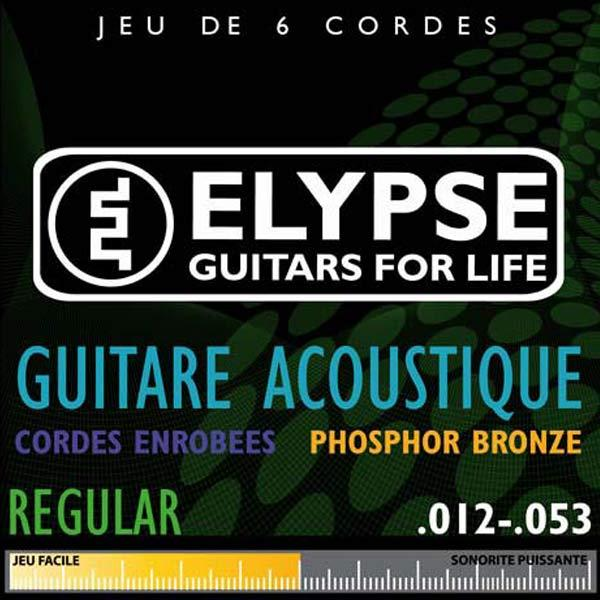 Jeu de cordes guitare folk AS-785C - 12 53 Regular