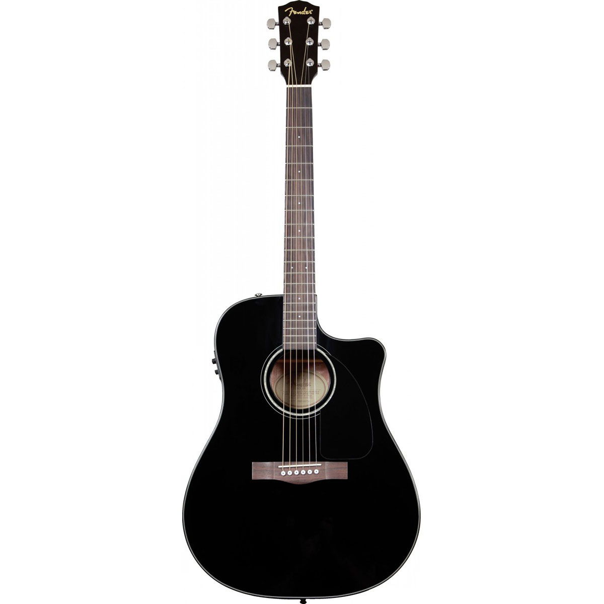 Fender - CD-60SCE Classic Design Noire