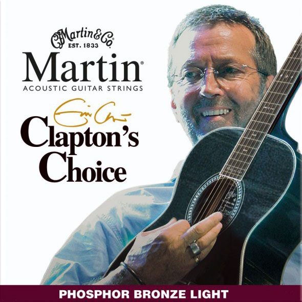 Martin&Co - Jeu de Cordes pour guitare Clapton's Choice MEC12 Light 12-54