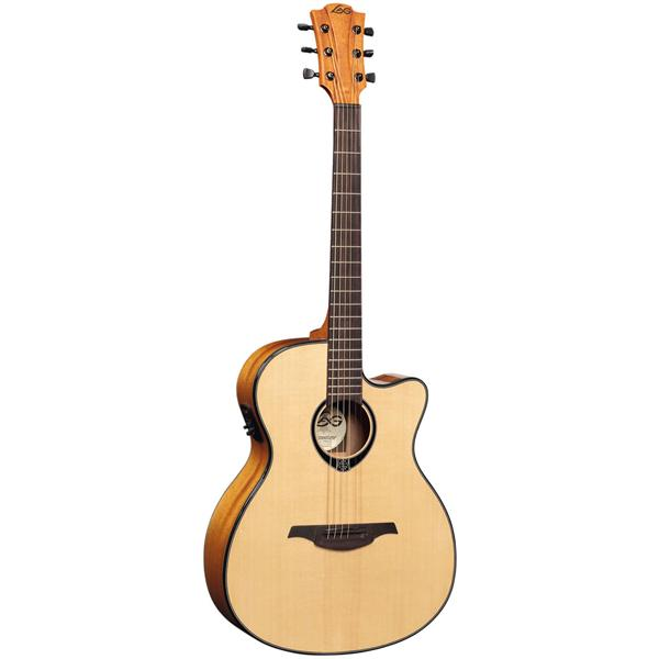 Lag - Guitare électro-acoustique auditorium - Tramontane T66ACE