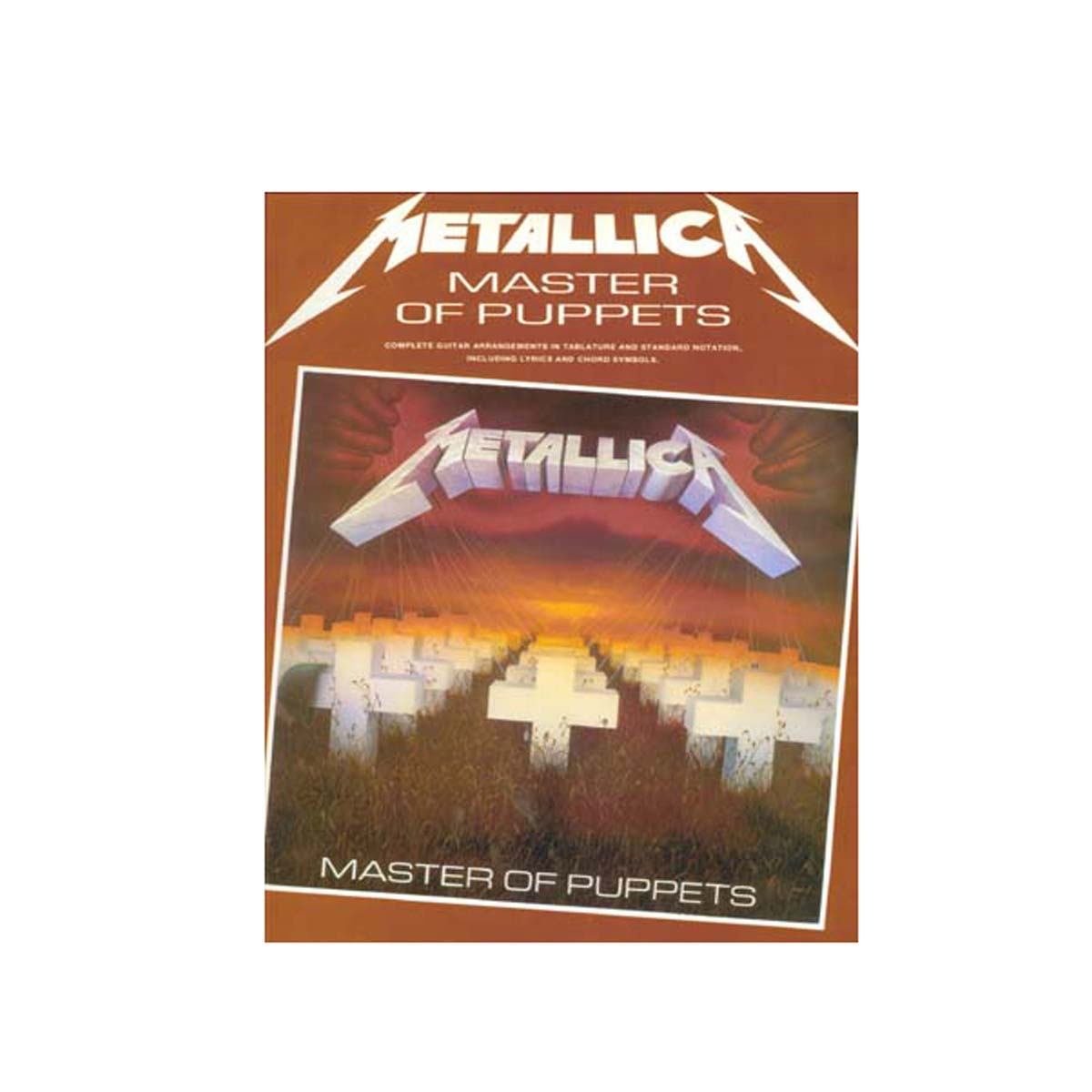 Metallica - Master of puppets guitar tab