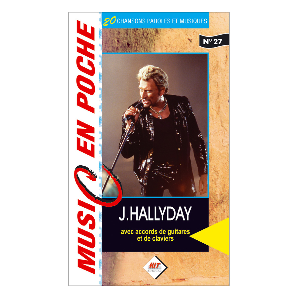 Music en poche Johnny Hallyday  n° 27