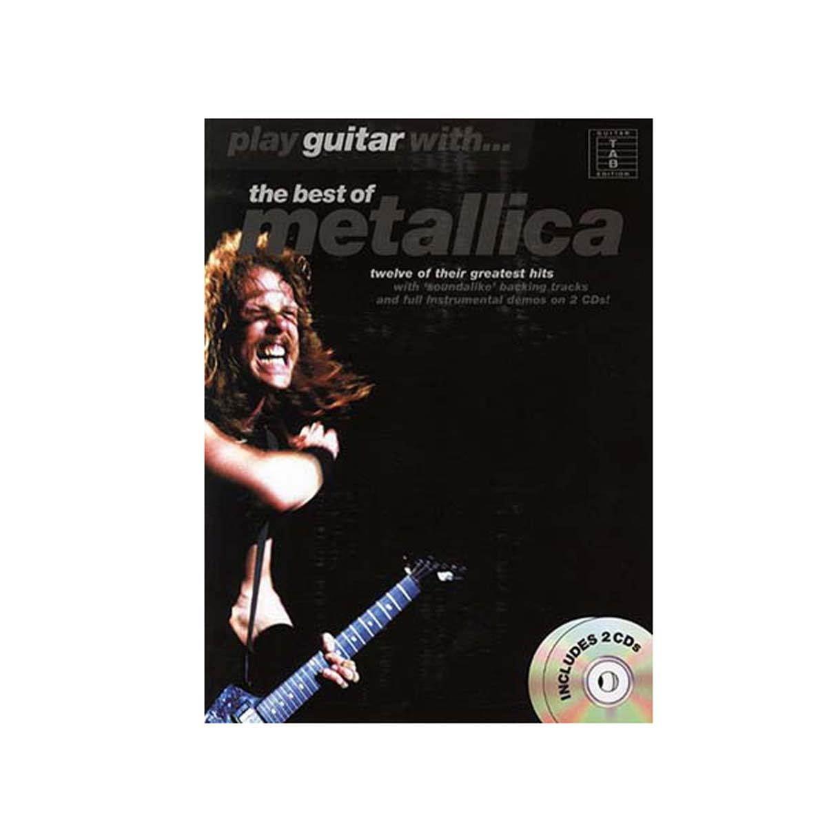Play guitar withThe best of Metallica