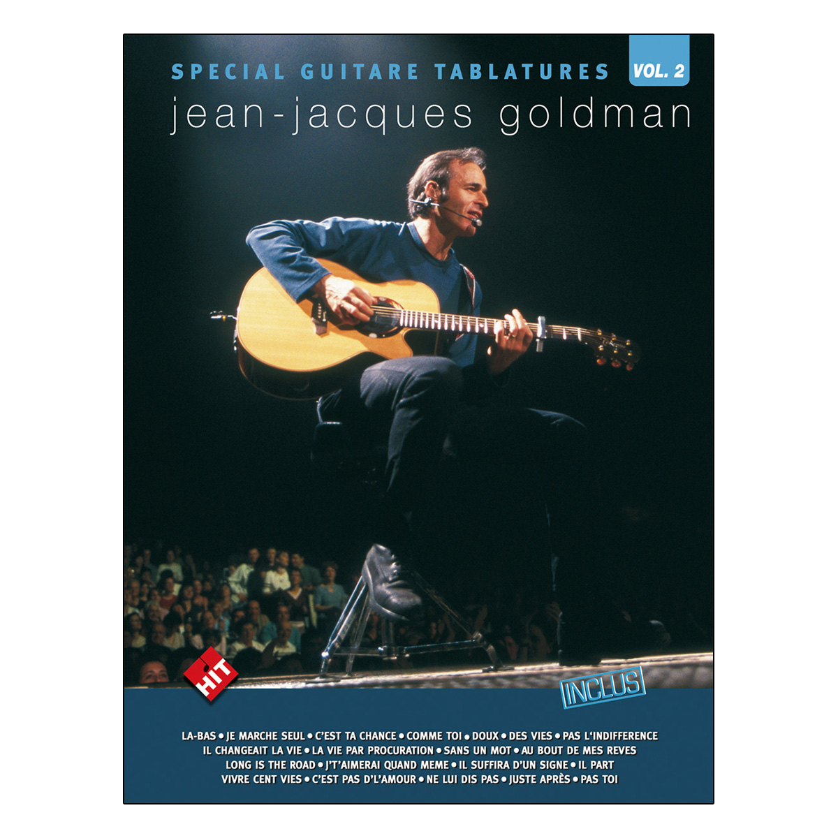 Spécial guitare tablatures vol.2 Jean-Jacques Goldman