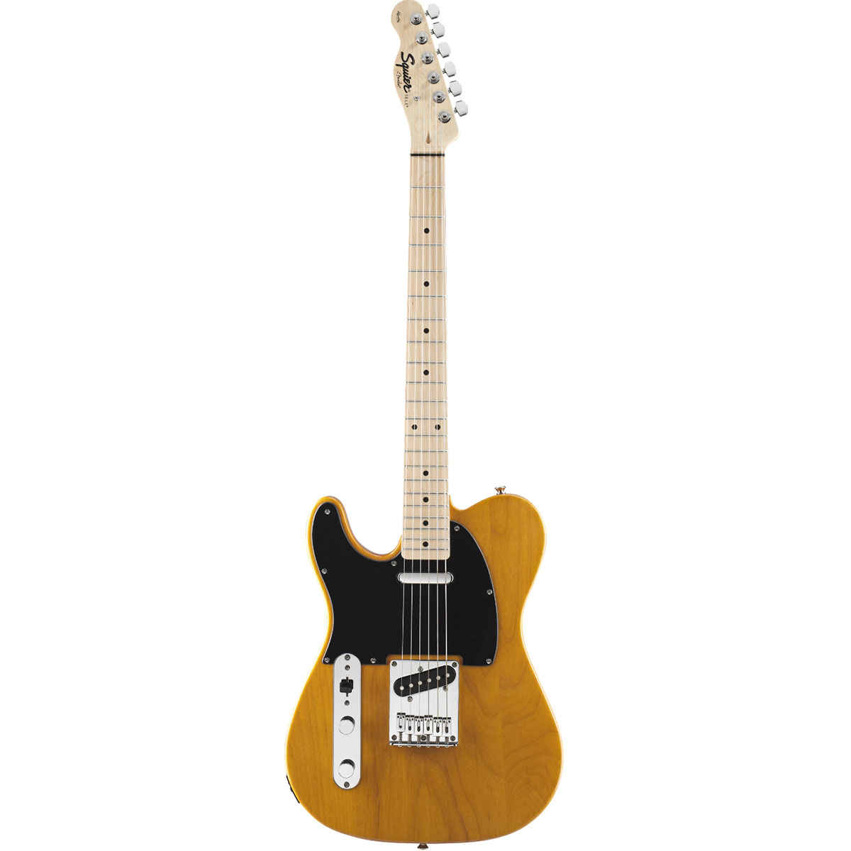 Squier - Telecaster gaucher Butter blond