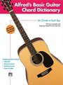 Alfred's Basic Guitar Chord Dictionary (Partition)