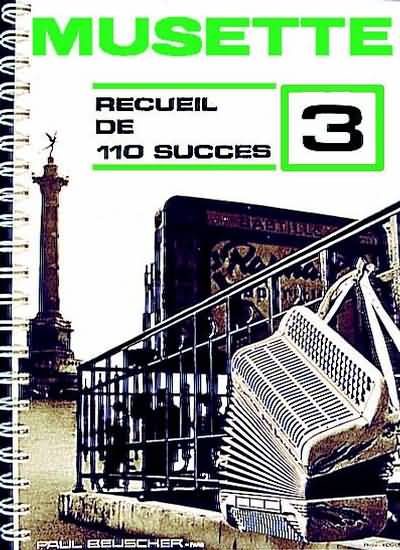 110 Succes Musette N°3 Accordeon