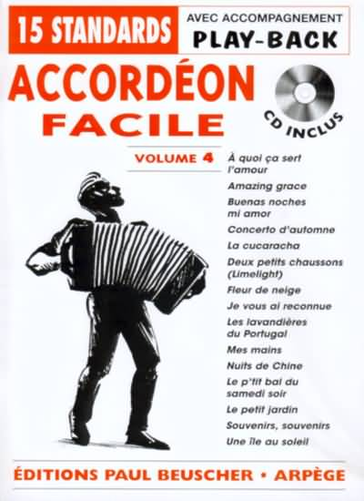 Accordeon Facile Volume 4