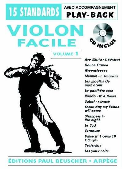 Violon Facile Volume 1