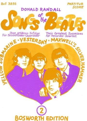 Songs Of The Beatles Book 2