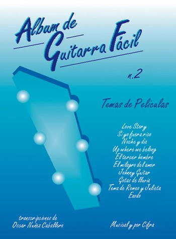 Album De Guitarra Facil N.02 - Temas De Peliculas (Partition)