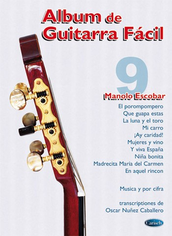 Album De Guitarra Facil N.09 - Manolo Escobar (Partition)
