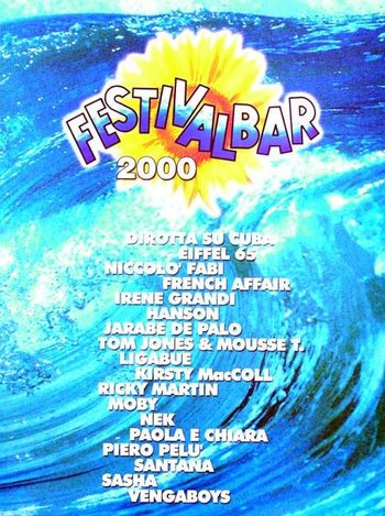 Artistes Divers / Various Artists - FESTIVALBAR 2000