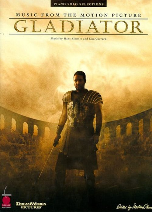 Gladiator : Piano Solo Selections