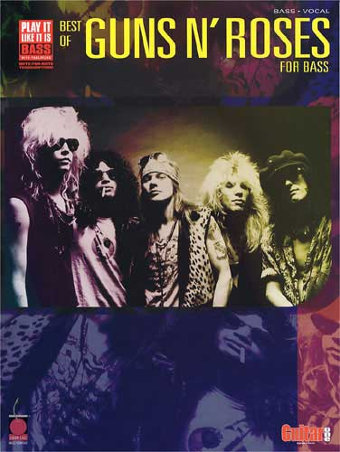 Play It Like It Is Bass : Best Of Guns N' Roses (Partition)