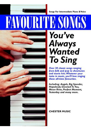 Favourite Songs You've Always Wanted To Sing