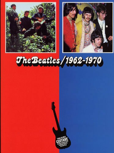 Beatles 62/70 Bleu/Rouge (Partition)