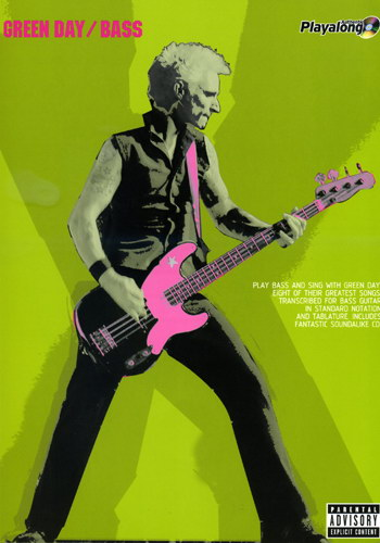 Green Day : Bass (Partition+CD)