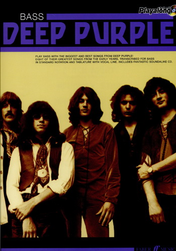 Deep Purple Authentic Bass Playalong