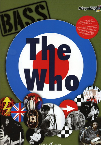 Authentic Playalong : The Who (Partition+CD)