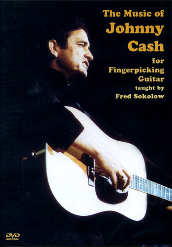 The Music Of Johnny Cash For Fingerpicking Guitar (DVD)