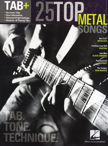 Tab +: 25 Top Metal Songs - Tab. Tone. Technique